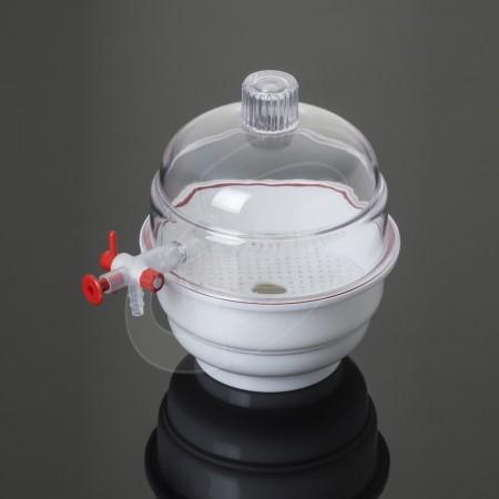 Glassco Desikatör - Vakumlu - 250 mm